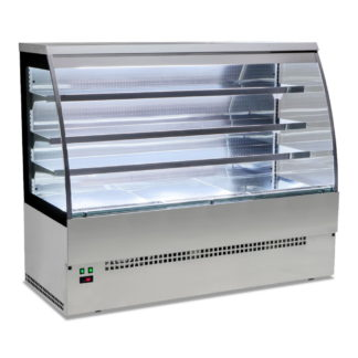EVO90-ST/STEEL | 900mm Serveover Stainless Steel | Sterling Pro