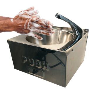 Pland Pushpad Hand Rinse Basin CWBMIN-P CWBMIN2-P