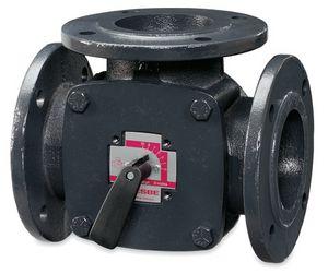 11100800 | ESBE 3F65 65mm 3port flanged iron valve kv=90 (1) | ESBE Limited