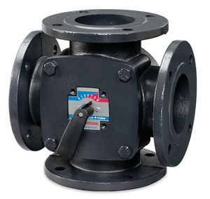 11101800 | ESBE 4F40 4port rotary valve flanged pn6 (1) | ESBE Limited