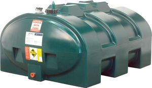 1200LP | Harlequin 1200LP low profile basic single skin tank | Clare Oil Tanks