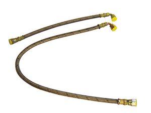 120404 | JAVAC 120404 12' PTFE S/S BRAIDED HOSE | Javac