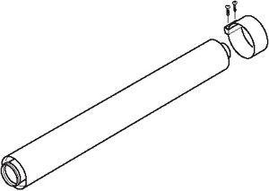 2000460483 | Glow-worm 60/100 flue extension 2 M | Glowworm