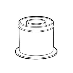 208175 | Ideal Vertical Flue Kit flue vertical connector | Caradon
