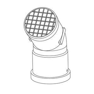 208176   Ideal Flue Kit flue deflector kit 60 diameter   Caradon