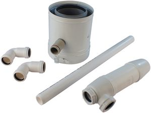 5136164   Andrews 100/150 syphon kit comes with condensate trap   Baxi