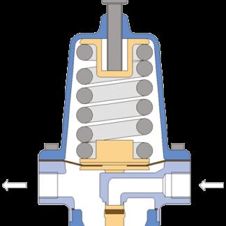 DM3905041-03/16-G Pressure reducer DN25 End Automation EA