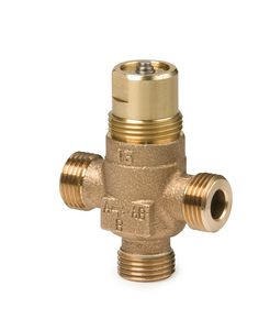 VXP45.25-6.3/C | Siemens vxp 45 25mm 3port valve kvs=6.3 +coupling | Siemens