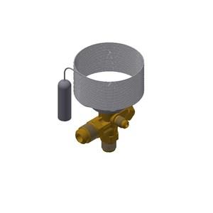Danfoss Thermostatic expansion valve, TE 2, R134a/R513A 068Z3802